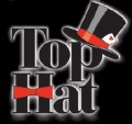 No Border - Top Hat Logo Black 2012